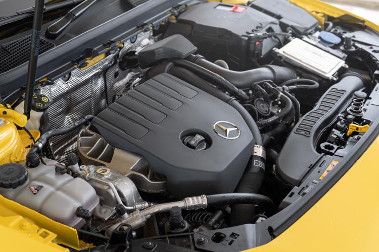 mercedes-benz cla shooting brake engine