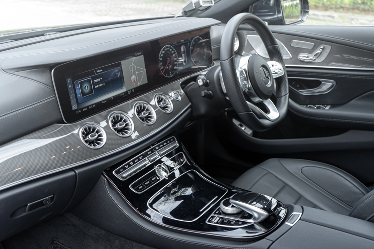 mercedes-benz cls350 interior