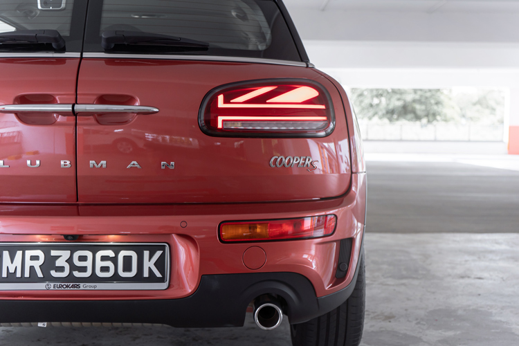 MINI Cooper S Clubman tail-lights
