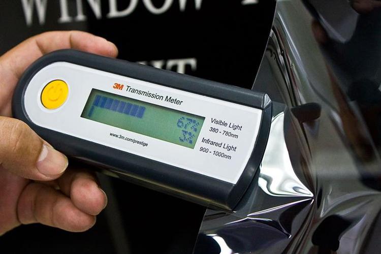 solar film visible light transmitted