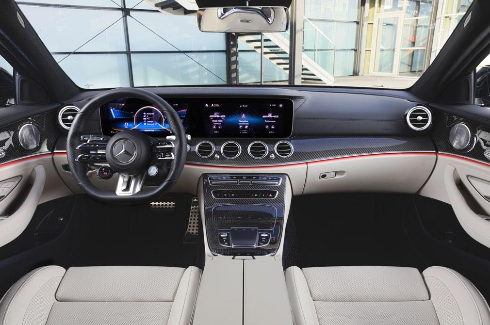 Mercedes-AMG E53 Cabin