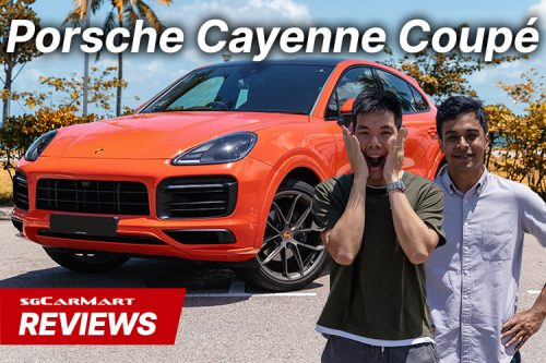 porsche cayenne coupe video review