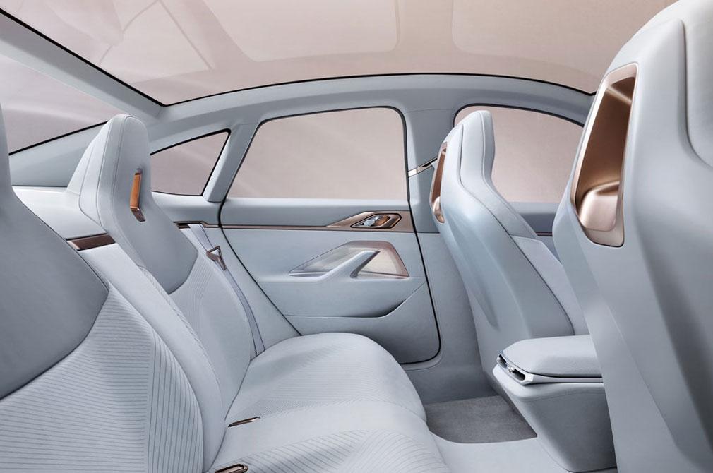 bmw concept i4 backseat