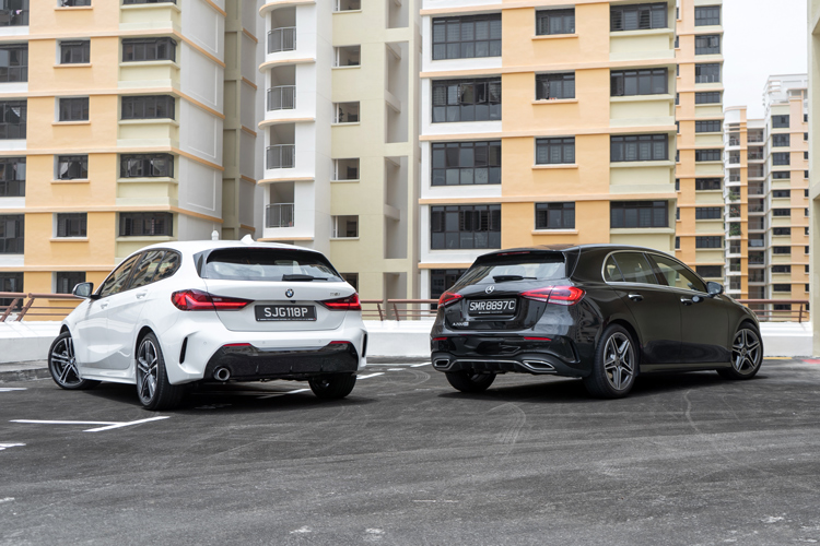 bmw 118i vs mercedes-benz a200