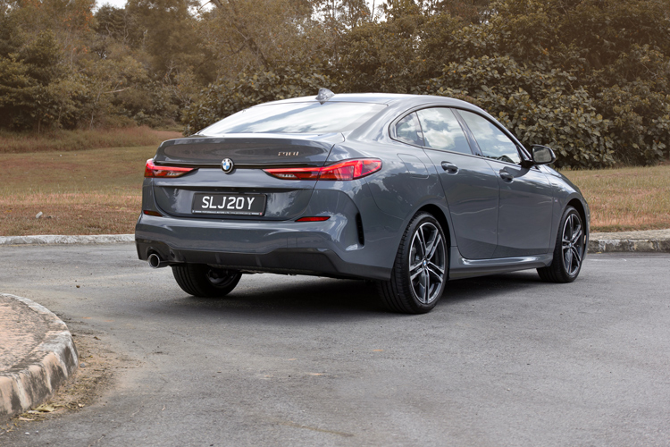 bmw 2 series gran coupe 218i rear static