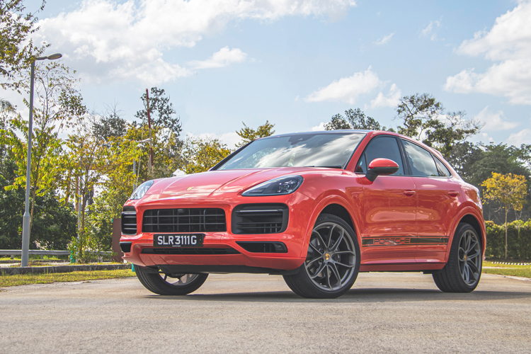 Porsche Cayenne Coupe, front static