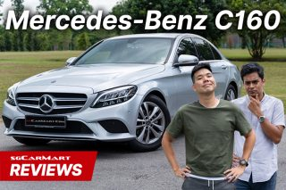 mercedes-benz c160 new car review video sgcarmart