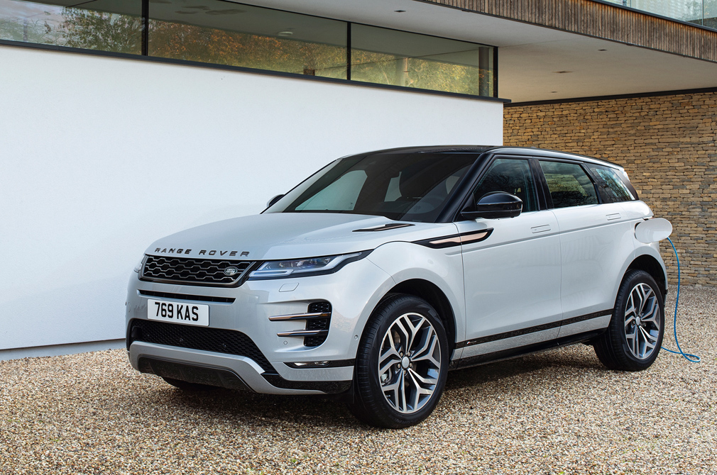 Land Rover Evoque plug-in hybrid