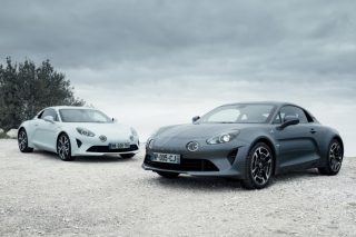 alpine a110 pure and legende gt