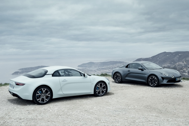 alpine a110 pure and a110 legende gt