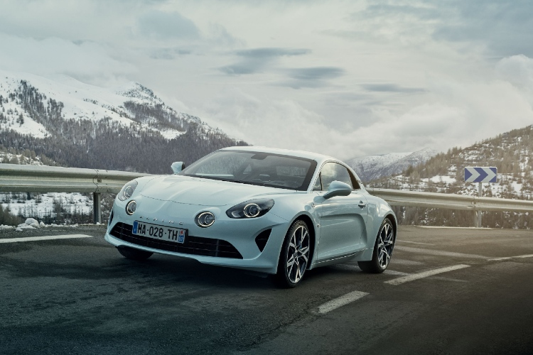 alpine a110 pure front