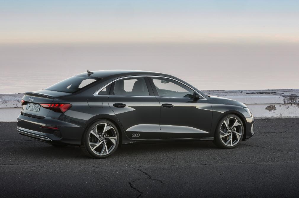 audi a3 sedan profile 2