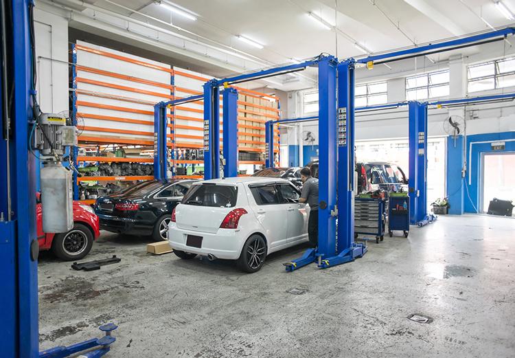 covid-19 car servicing