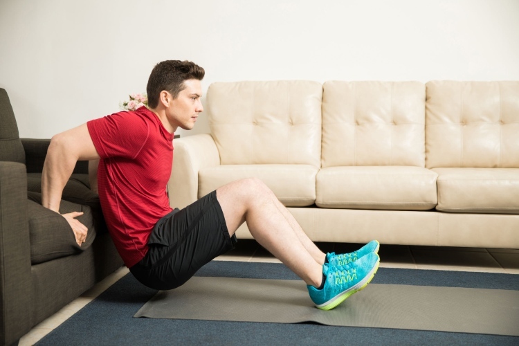 driver fitness tricep dips
