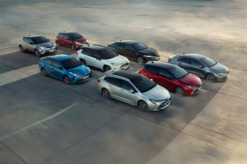 Toyota global hybrid sales