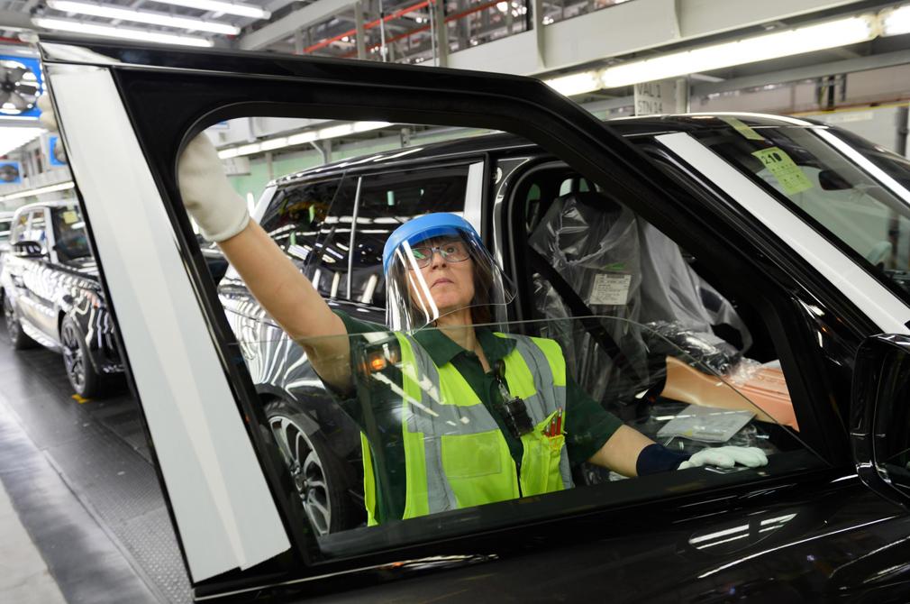 Jaguar Land Rover resumes production