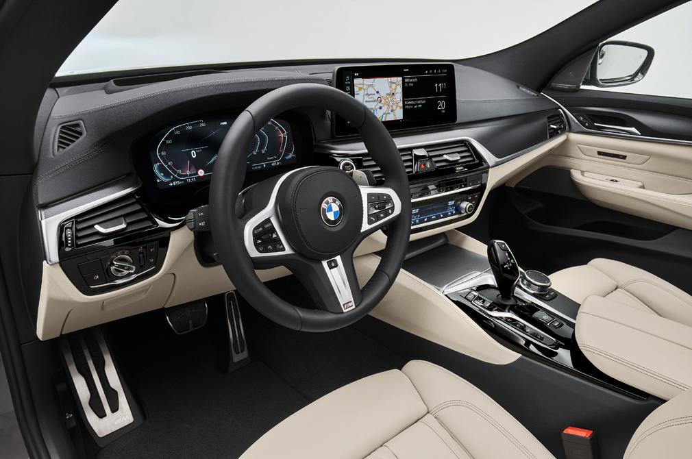 BMW 6 Series Gran Turismo cabin