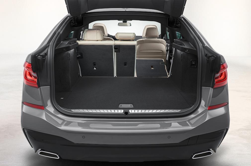 BMW 6 Series Gran Turismo boot