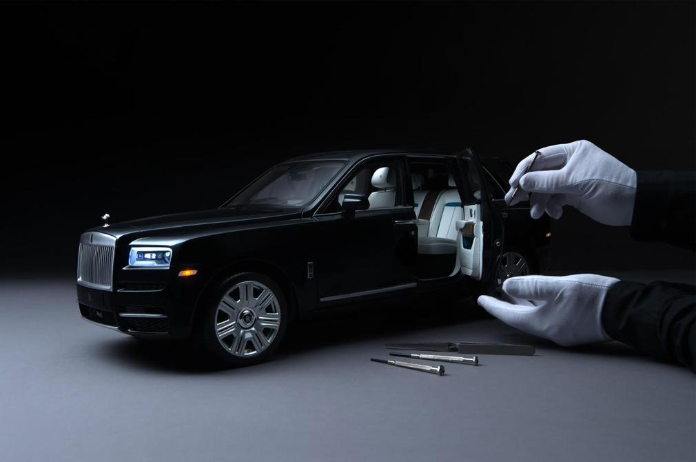 Rolls-Royce Cullinan model