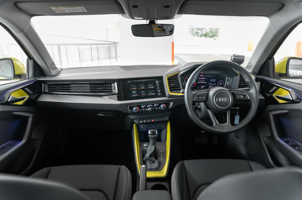 Audi A1 Sportback cockpit