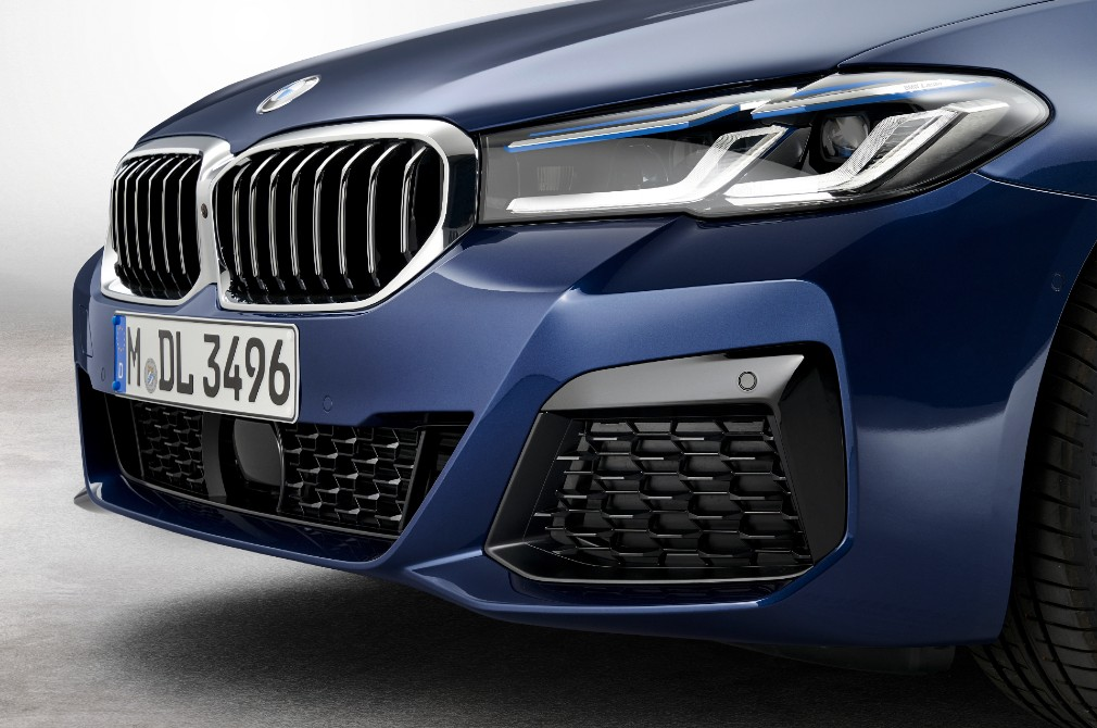 bmw 5 series front end