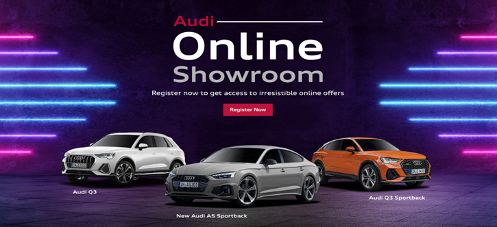 car dealer audi online showroom