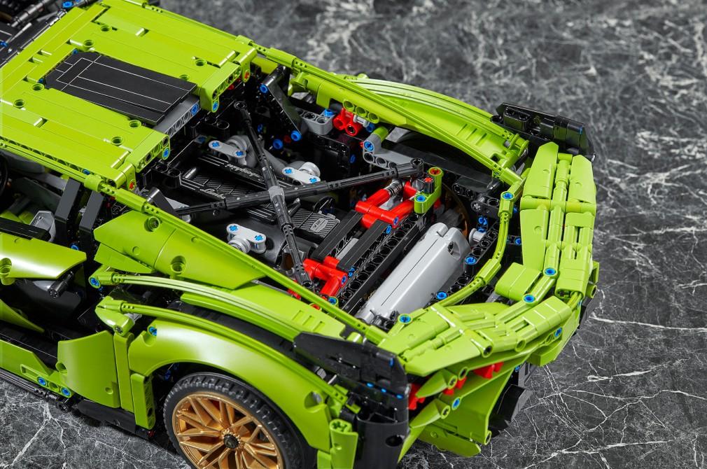 LEGO Technic launches Lamborghini Sián FKP 37   Torque
