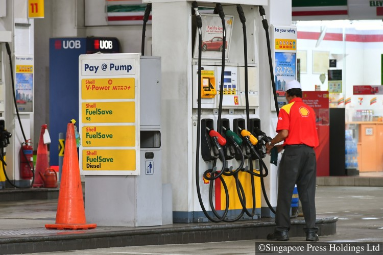petrol prices in singapore