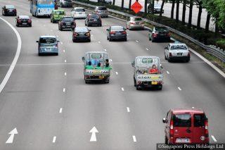 traffic less but more speeding
