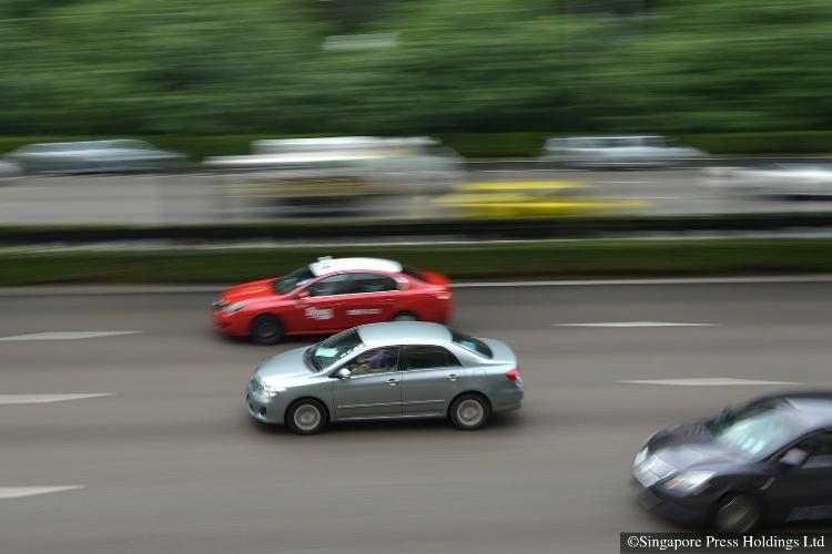 traffic speeding in singapore