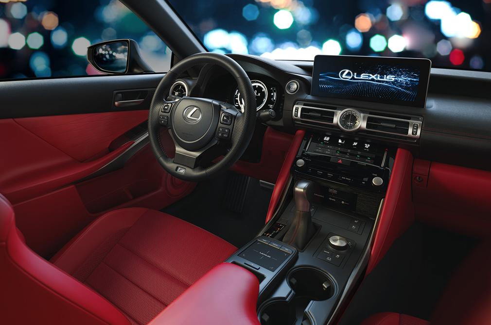 Lexus IS F Sport cockpit