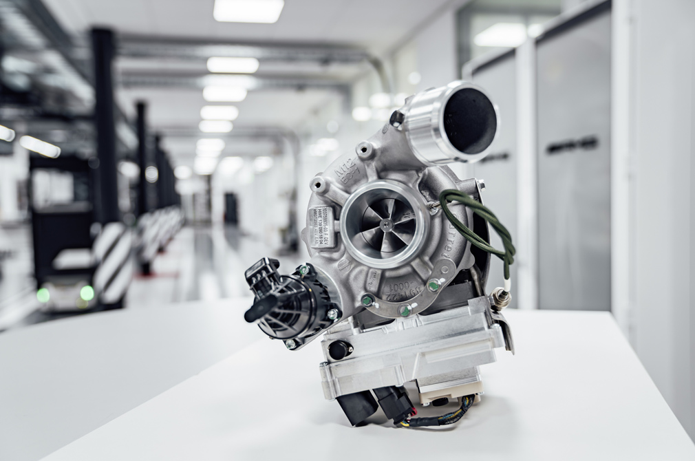 Mercedes-AMG eTurbo Electric Turbocharger