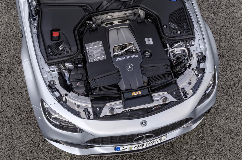 Mercedes-AMG E63 engine