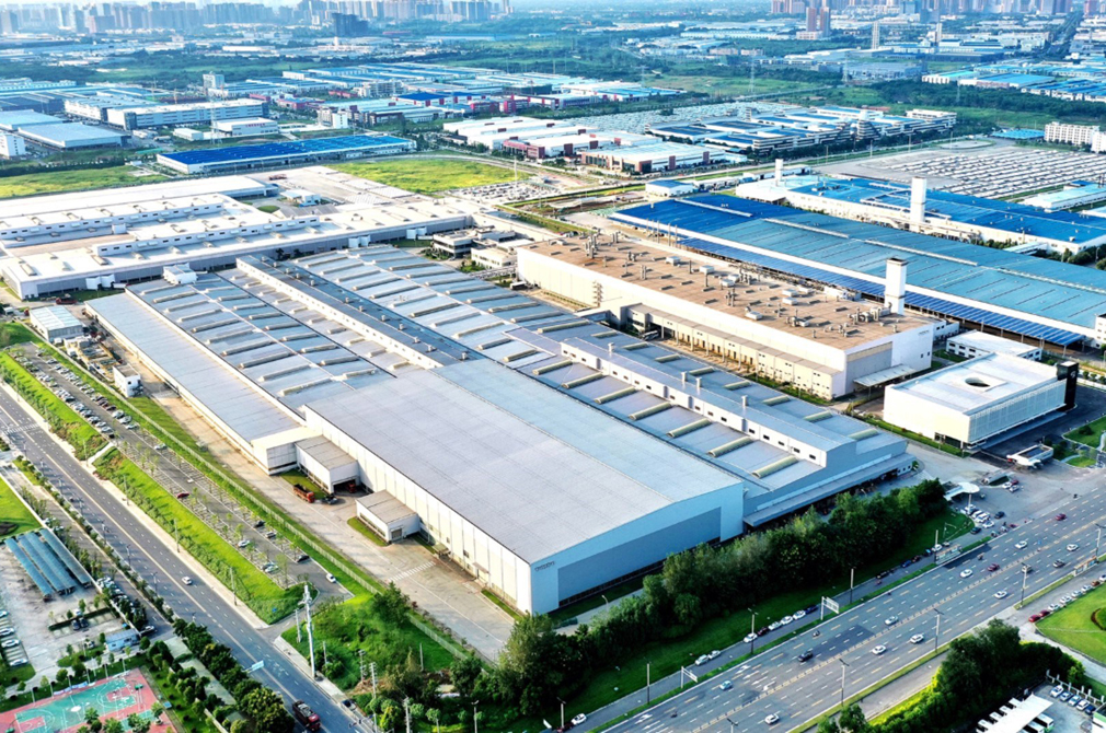 Volvo Cars Chengdu plant