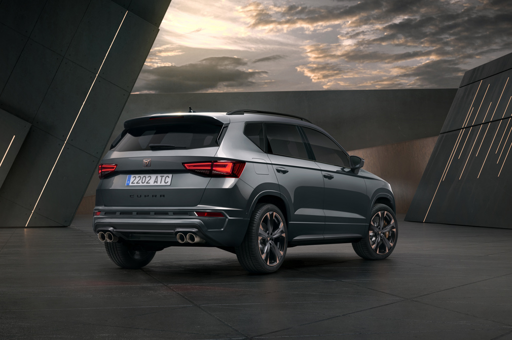 Cupra Ateca rear