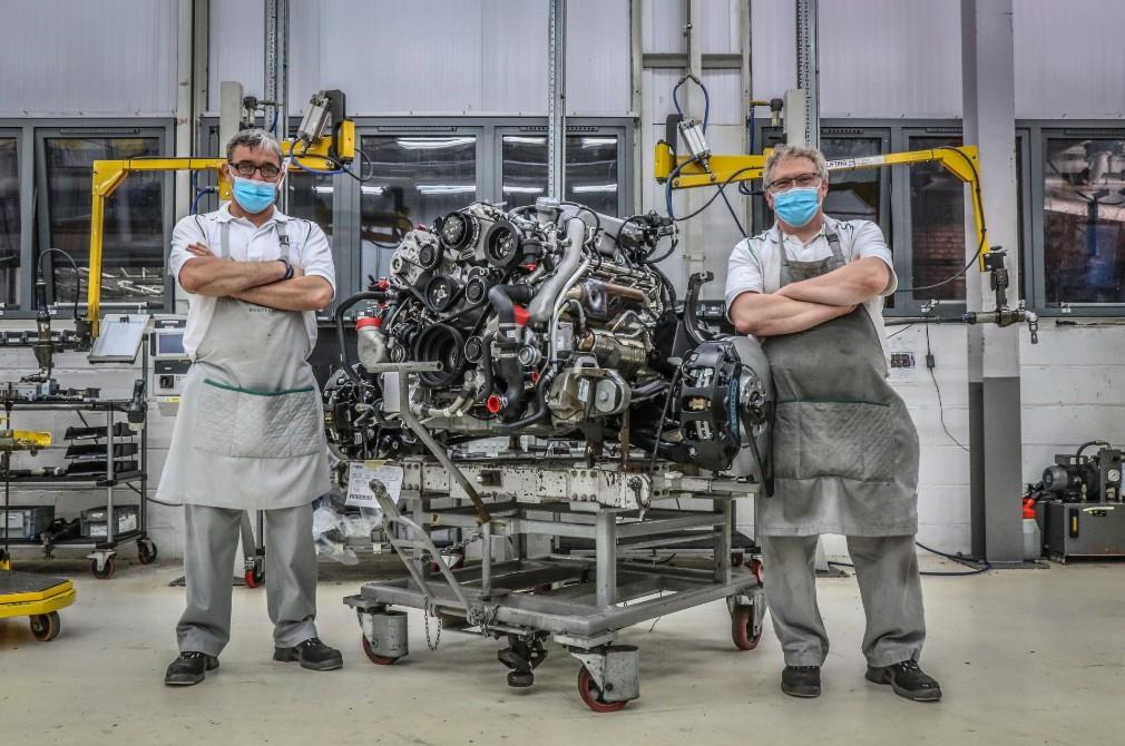 Bentley 6.75-litre V8 final unit