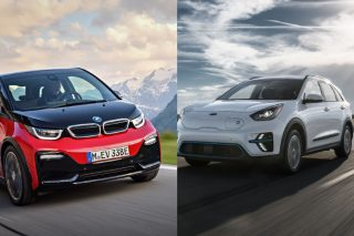 bmw i3s and kia niro ev