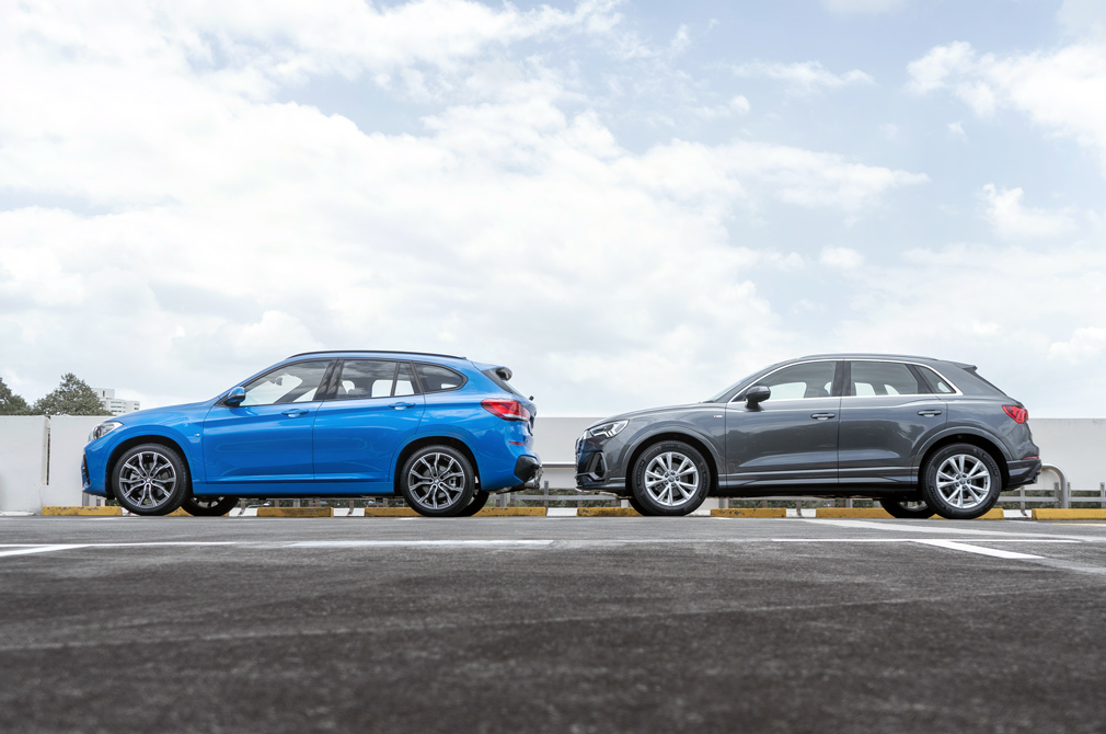 bmw x1 and audi q3 profiles