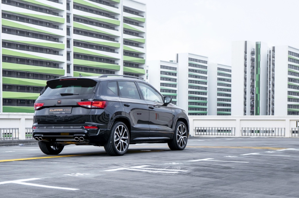 Cupra Ateca rear static