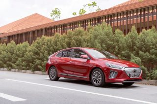 updated hyundai ioniq electric
