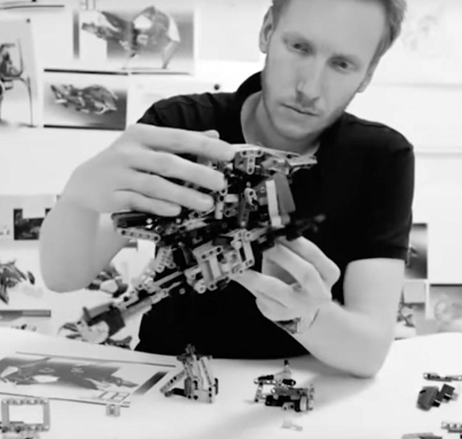 LEGO Technic Aurelien Rouffiange