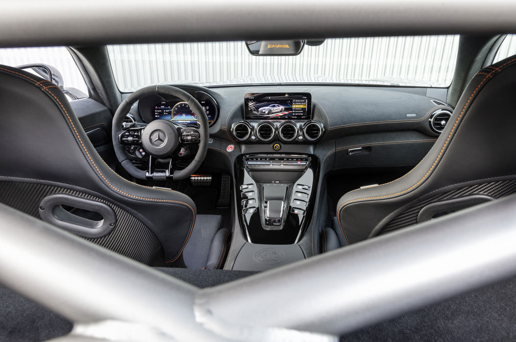 AMG GT Black Series interior