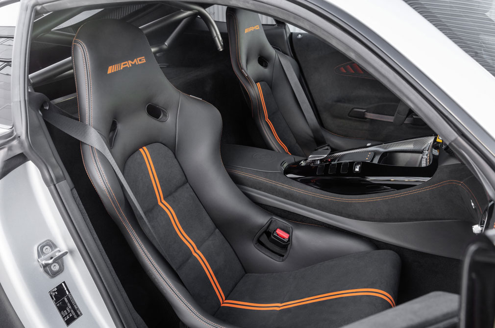 Mercedes-AMG GT Black Series bucket seats