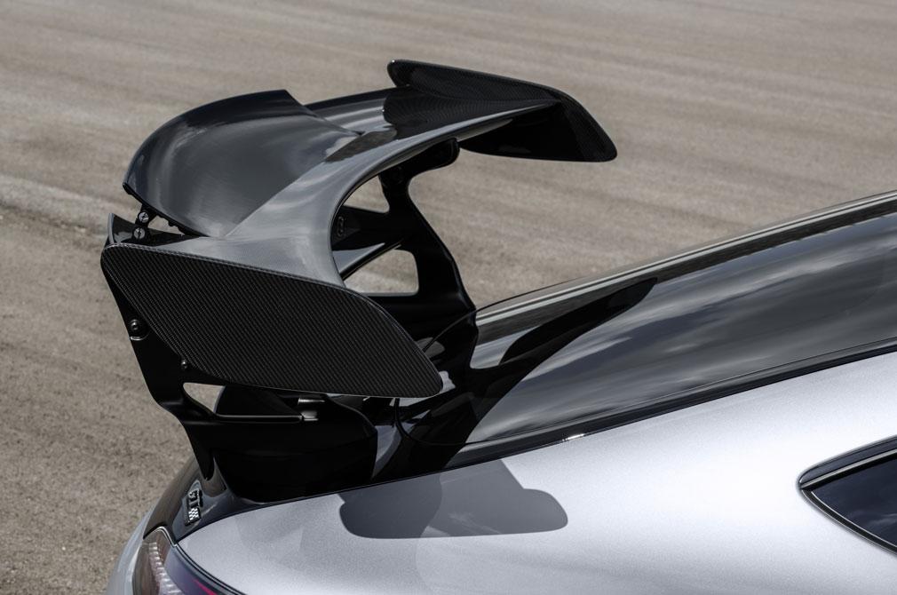 AMG GT Black Series spoiler