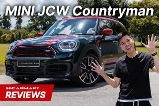 MINI JCW Countryman video review sgCarMart