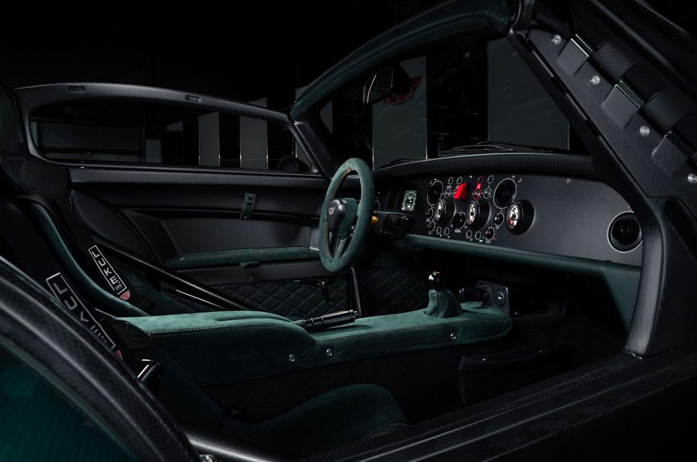 Donkervoort JD 70 interior