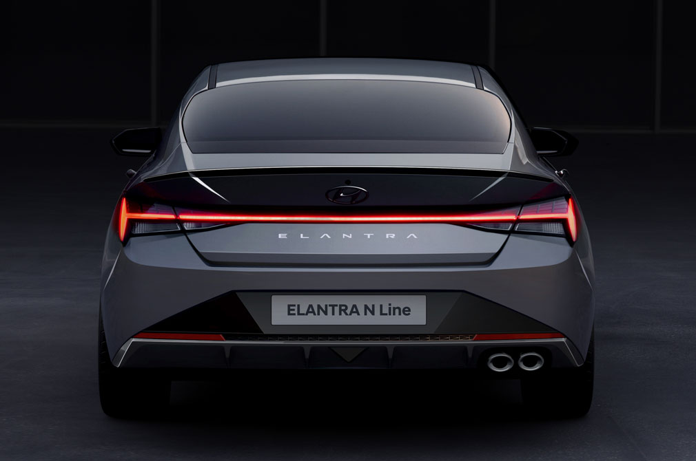 Hyundai Elantra N Line.