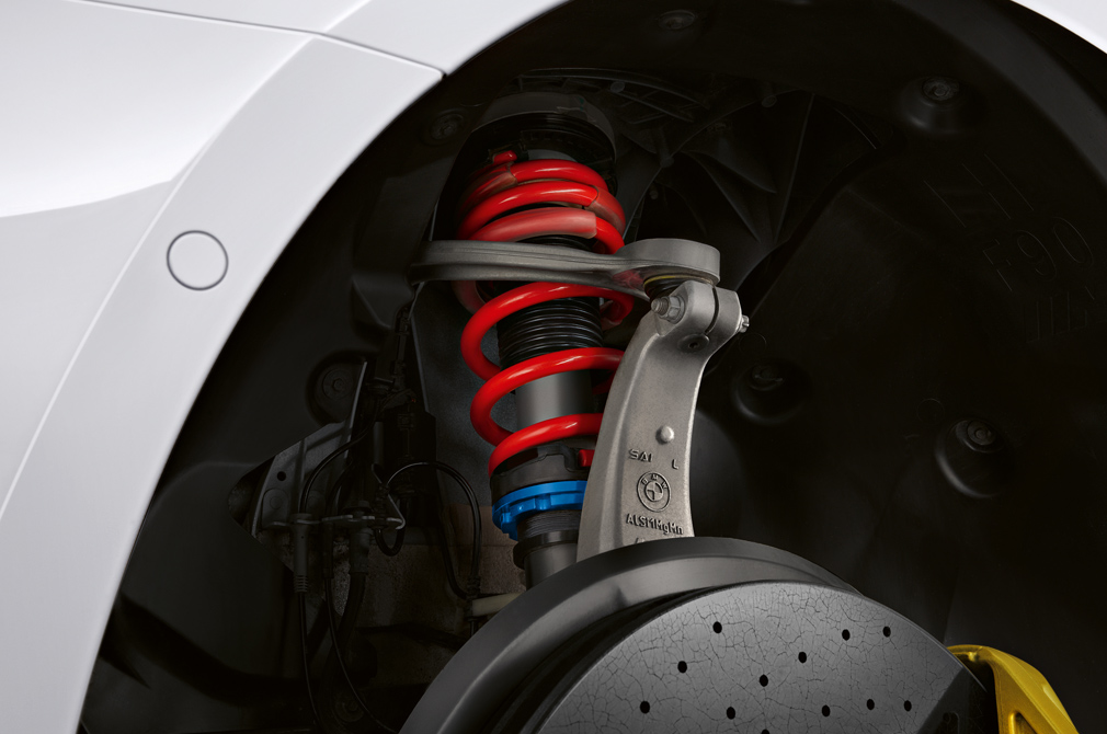 BMW M Performance Parts coilovers