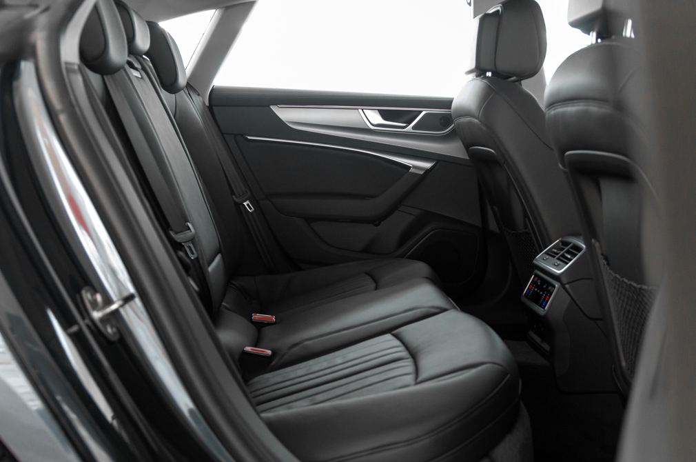 Audi A7 Sportback backseat