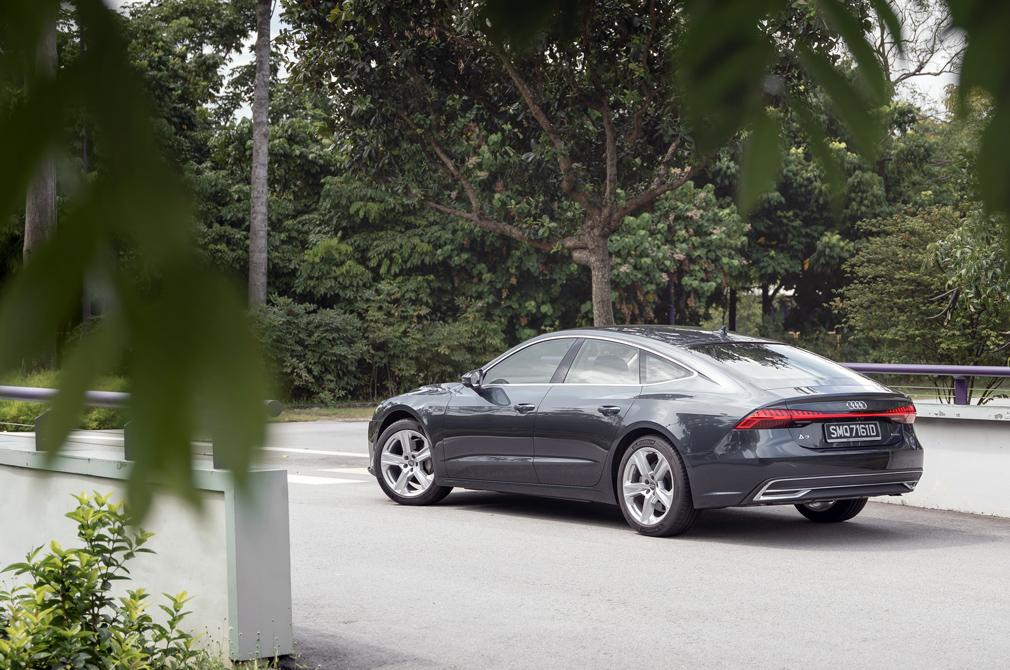 Audi A7 Sportback rear angle